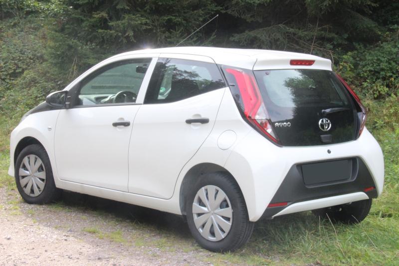Mietwagen Toyota Aygo
